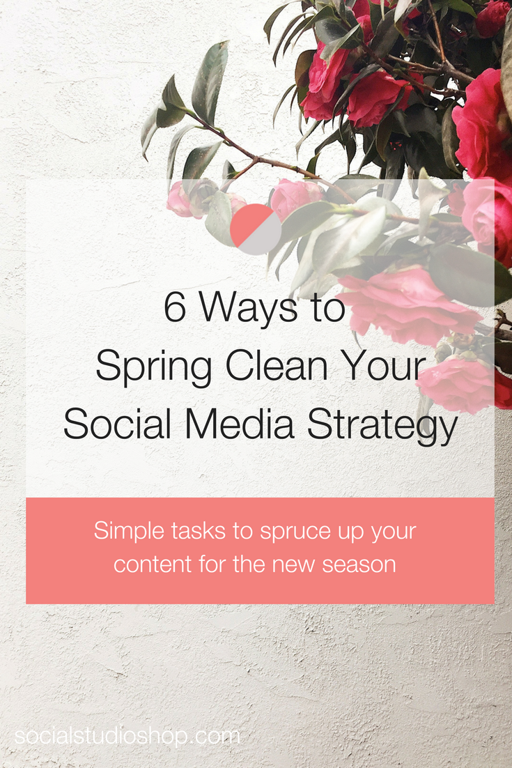 Spring has sprung which means it's time for spring cleaning! Learn what six easy tasks you can do to spring clean your social media strategy, revitalize your content and engage your audience for the new seasons ahead!