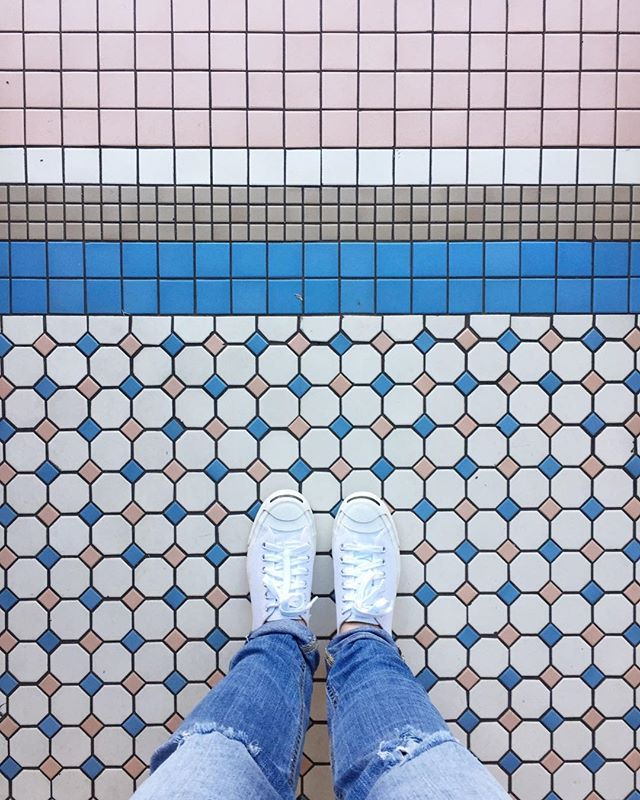 "Has anyone ever heard of the hashtag #ihavethisthingwithfloors? Take a peek, we love it! ⠀ ⠀ Do you know how utilizing hashtags can benefit your growth + brand awareness? If you are sitting there answering ""help"" that's exactly what we're here to do. Our Boss Babe @jessicahowell wrote an entire post on our blog (link in profile) all about hashtag strategy. ⠀ ⠀ Learn how you can craft a hashtag strategy for your brand and #InspireConnectGrow your communities!"
