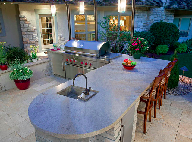 Outdoor Kitchens: Design And Build Service: Enjoy Superior Outdoor Living  With Kitchens That Will Ease And Improve Your Outdoor Living Experiences.