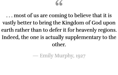 emily murphy accomplishments