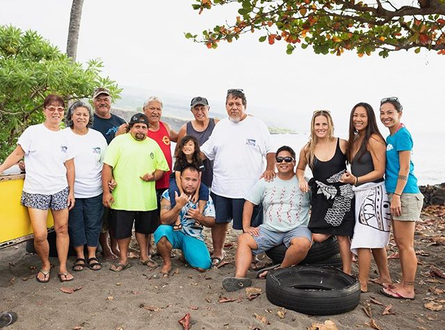 ʻŌpelu fishing continues to be way of life, and a staple food source for the families of Hoʻokena. This weekend we went behind the scenes with the fishing families, @greatbigstory, and @musubman to share the importance of ʻōpelu and how the Hoʻokena organization #KUPA is working to continue their traditional practice of hanai #opelu with their #OpeluProject. Mahalo piha to the many hands that made this weekend's storytelling project a success! #BTS #Hookena #OpeluProject