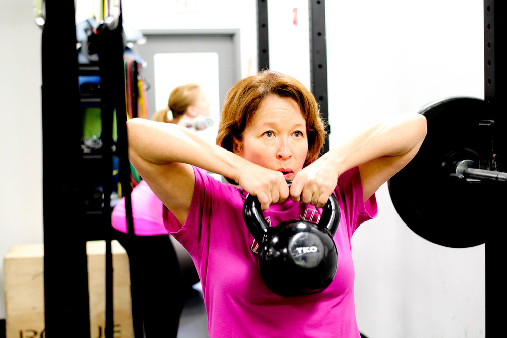Deb R Personal Training client at Vagus Fitness Royal Oak NW Caglary