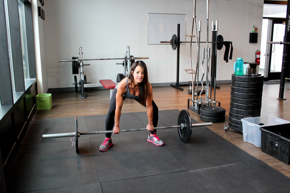 Sumo Deadlift personal training calgary