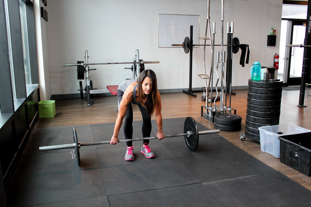 Deadlift personal training Calgary Vagus Fitness