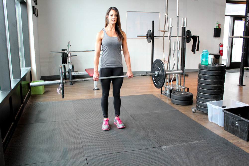 Romainian Deadlift Calgary Personal Training