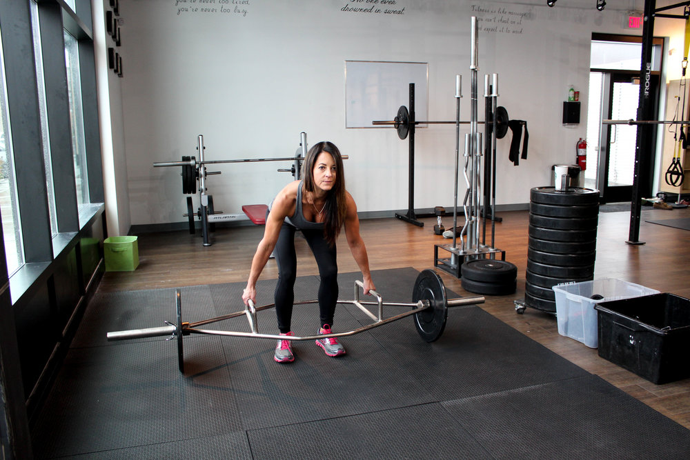 Hex Bar deadlift Vagus Fitness Calgart Personal Training