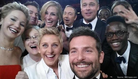 selfie social media digital earned media