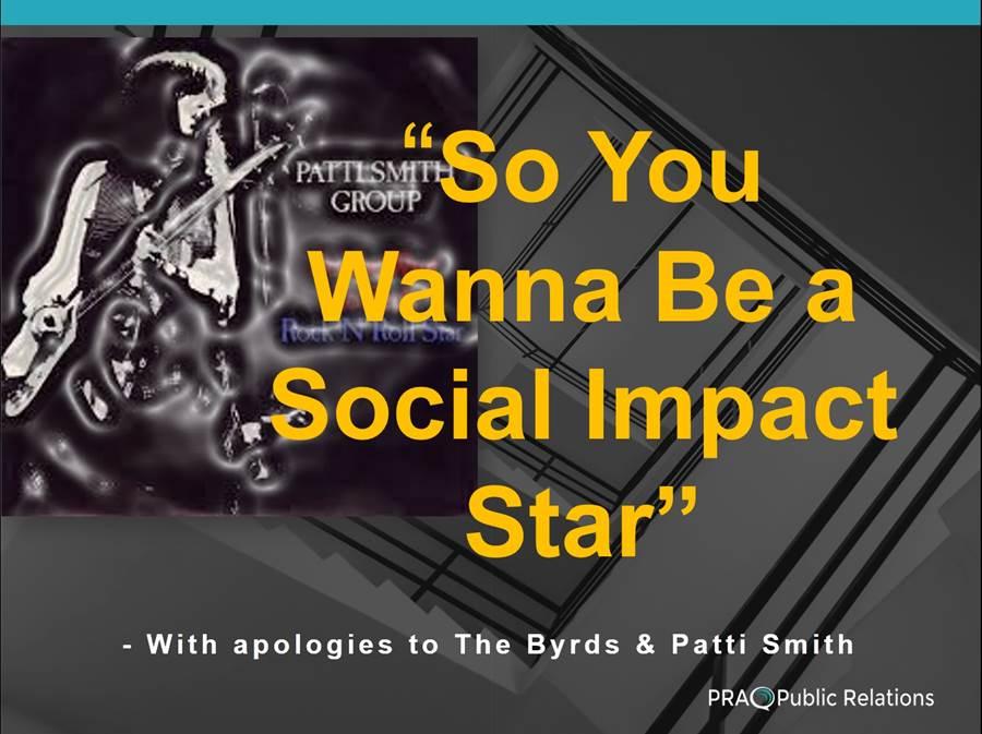 PRA Public Relations Thought Leadership PR Social Impact
