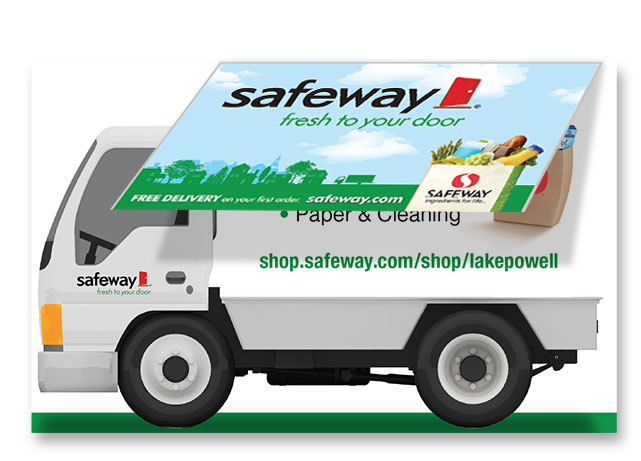 Safeway Delivery Cards ron bernaldo designs