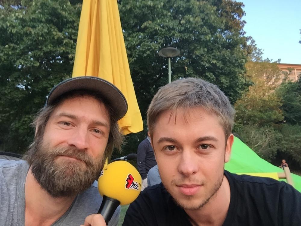 Spontan vorbeigekommen: Simon Ortmeyer von I'm Not A Band und A Perfect Pineapple