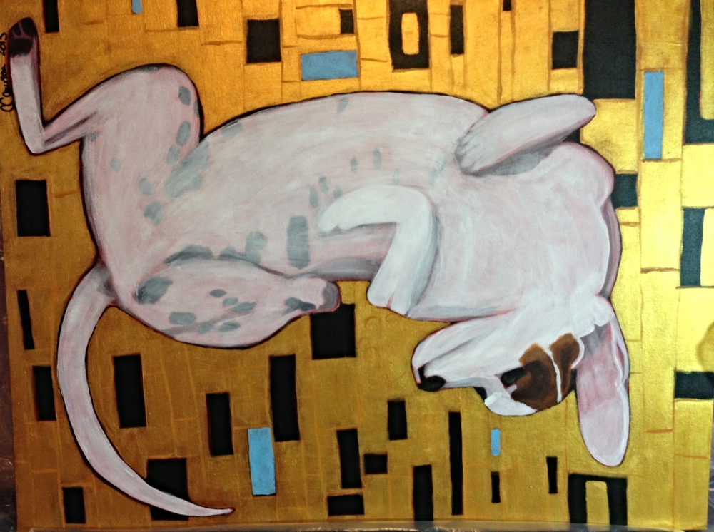 Dizzy - Klimt'd