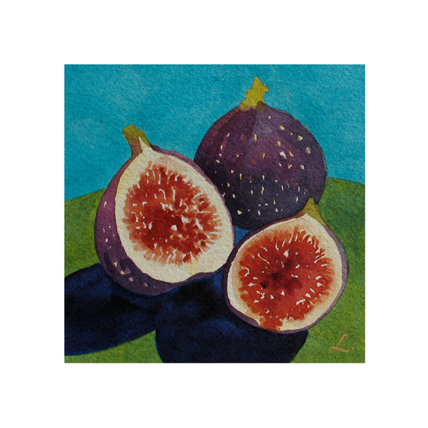 Figs on Turquoise and Green122.png