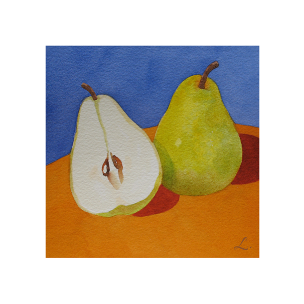 Pears on Blue and Orange 122.png