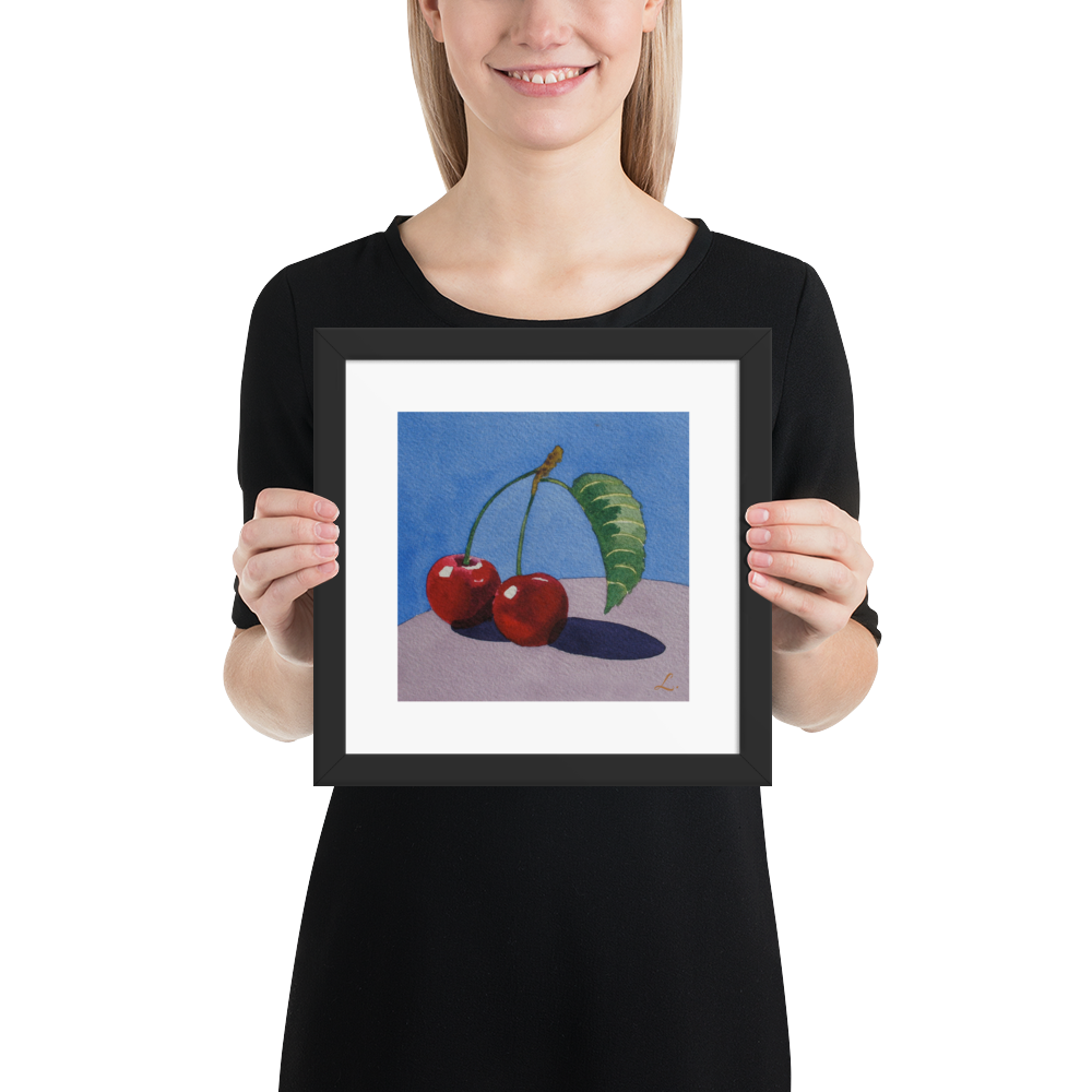 Cherries-on-Lavender-fruit-frame-10x10-copy2_mockup_Person_Person_10x10.png