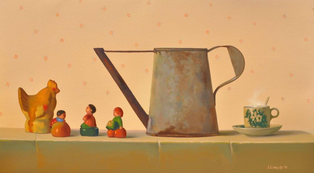 C1602033 - Baby and Grandpa Sharing a Coffee Pot.jpg
