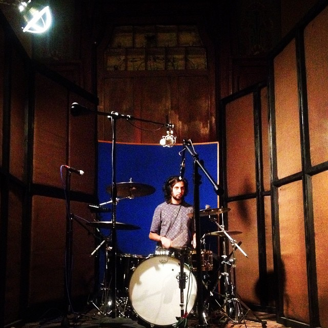 Will Ponturo on drum kit