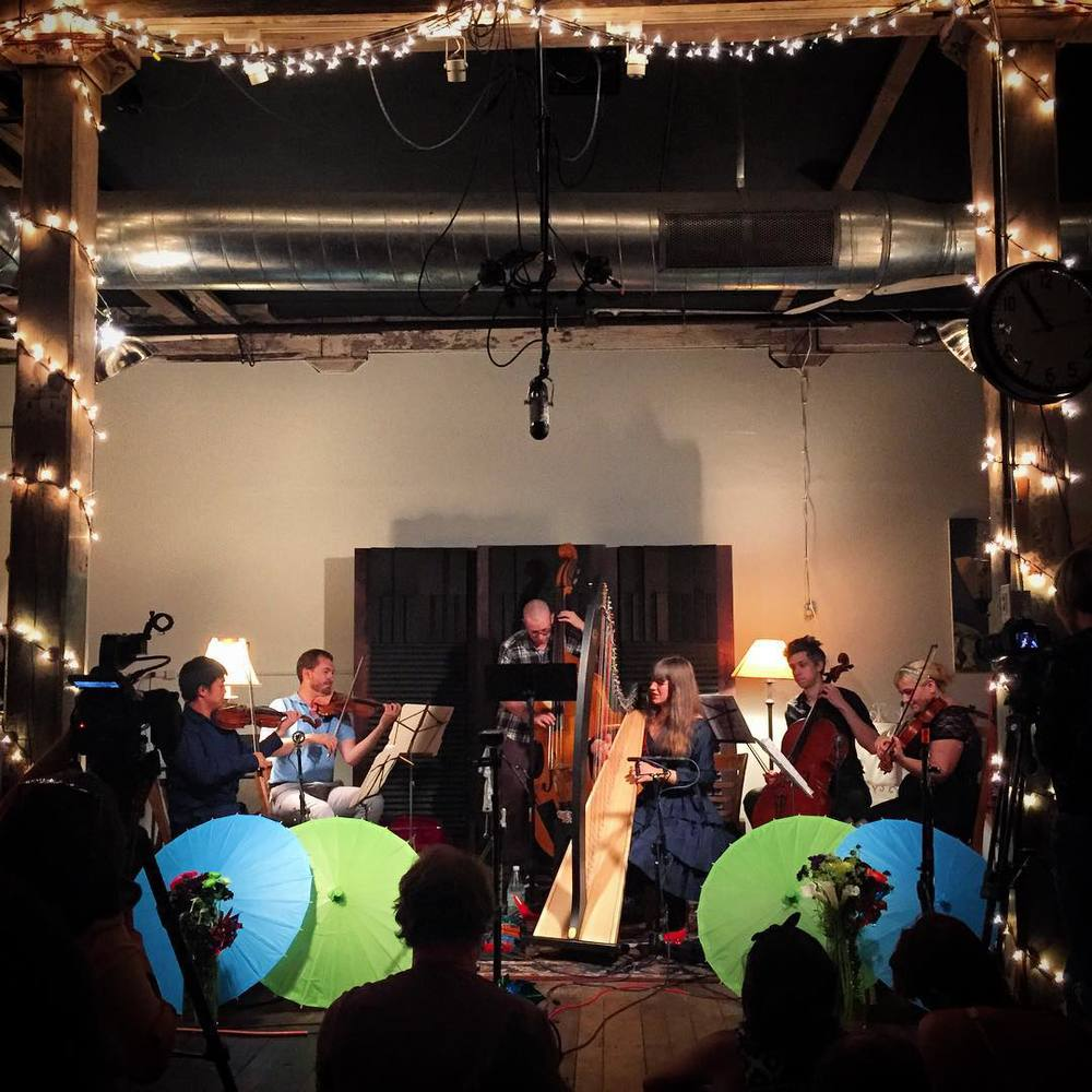 Private release show with quintet from the Cambridge Philharmonic