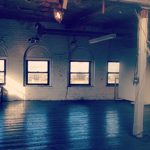 My new rehearsal loft!!! Moving in on my birthday 1/1! (at Green Street Park)