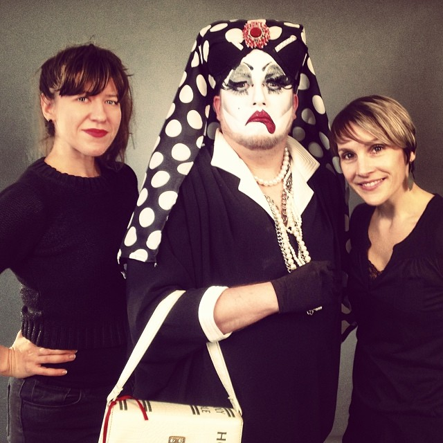 Sandra Musique, clown nun of the  Sisters of Perpetual Indulgence. Best name ever.