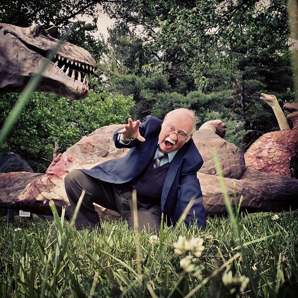 Dad's Savage Time at Dinosaur Land, I