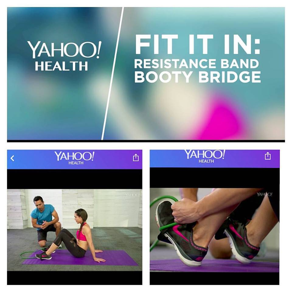 Yahoo Health: Butt-Lifting Workout with Celebrity Trainer Brett Hoebel