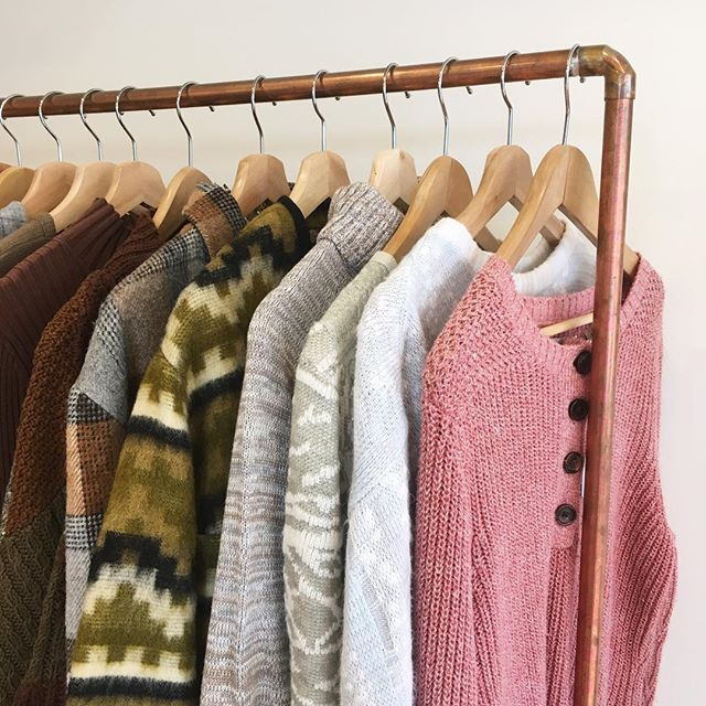 🍂Whether you're happy or sad about it, we're prepared to fulfill your sweater weather needs. Open until 4 today 🍂