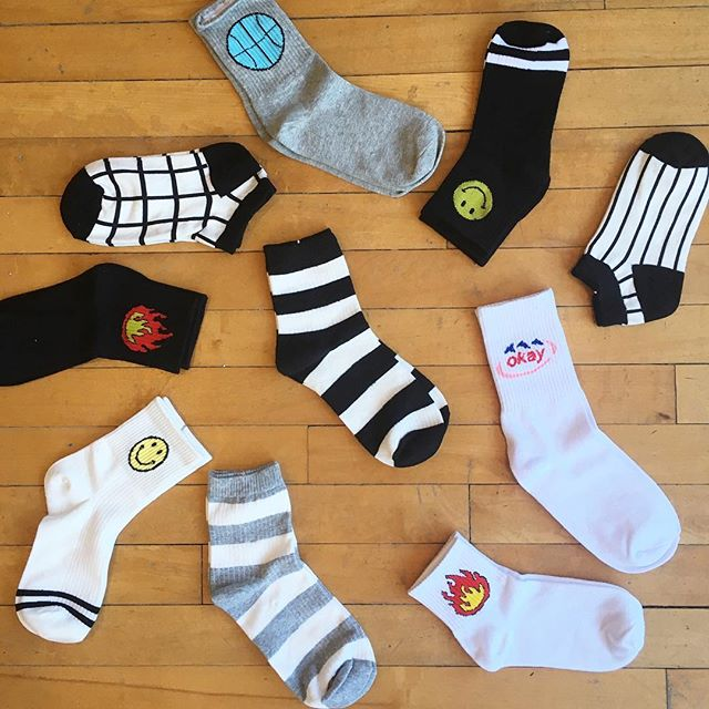 🧦All socks in the shop now $5 a pair or 3 for $12 ! 🧦