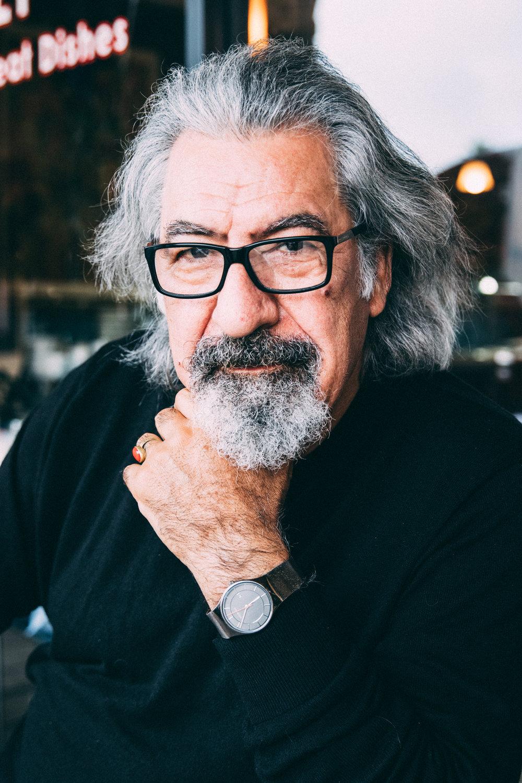 Ibrahim AlNashashibi (painter, poet, author) Image by:  Melody Solomon
