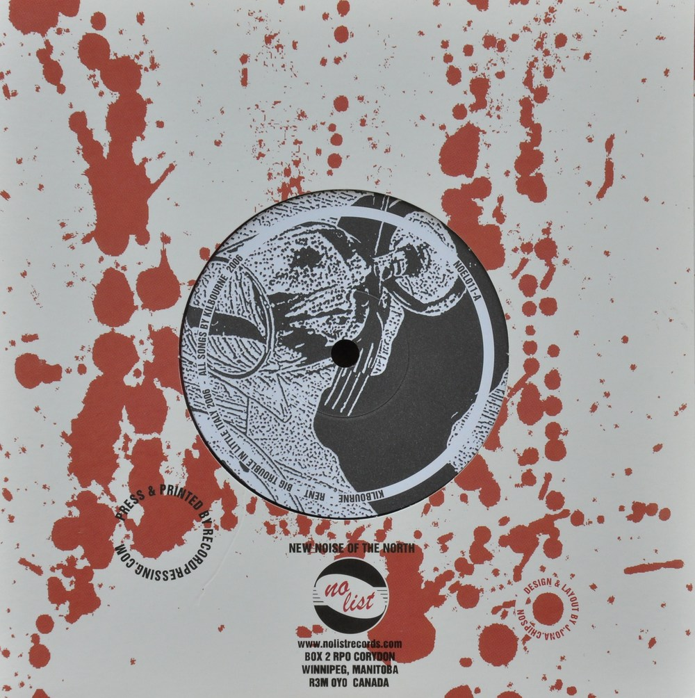 "Tous Split 7"" <br /> New World on Fire // Kilbourne"