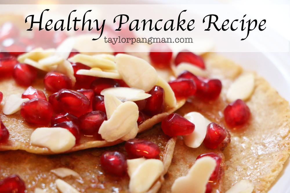 Pin now, make later! Healthy Pancake Recipe