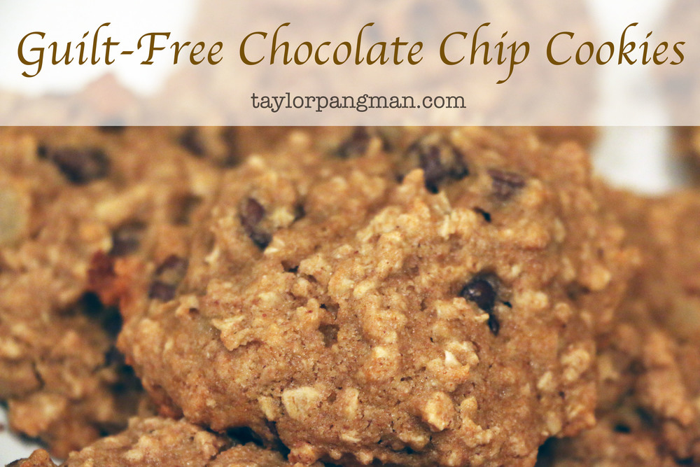 Pin now, bake later! Guilt-Free cookies