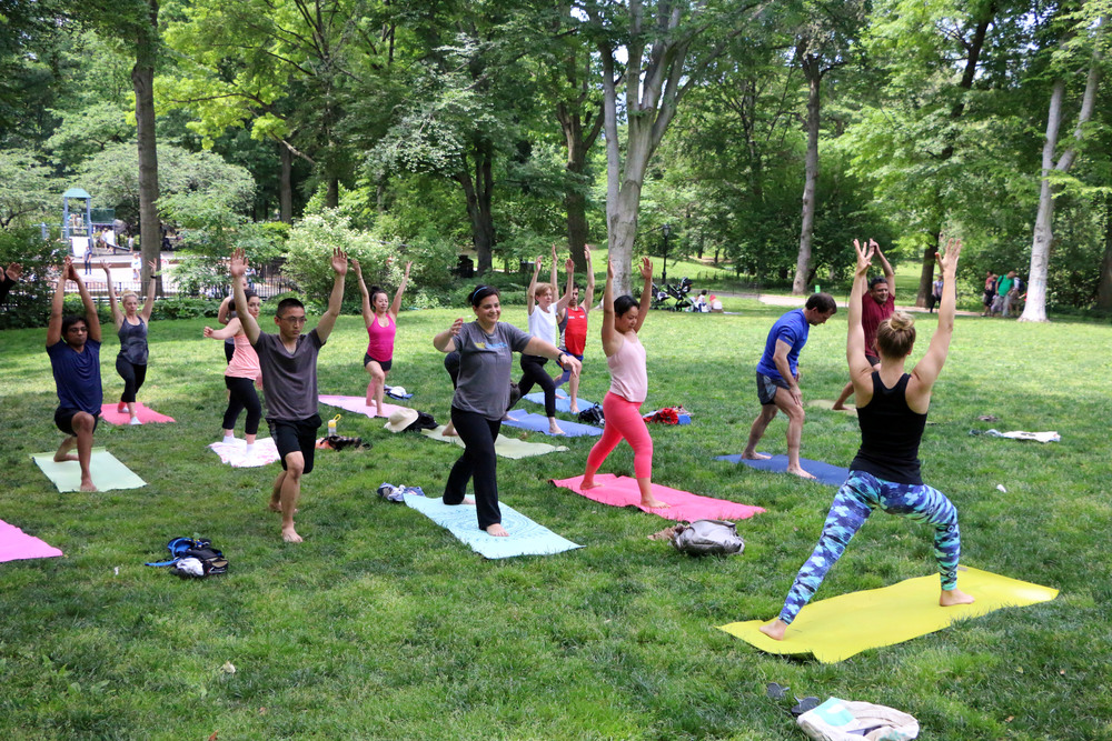 Photo from NYC Central Park Yoga Classes