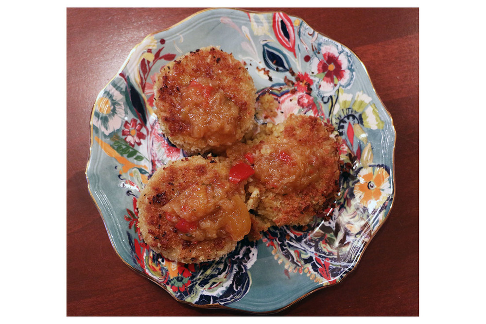 Pin now! Curried Chickpea Cakes - the best summer meal!