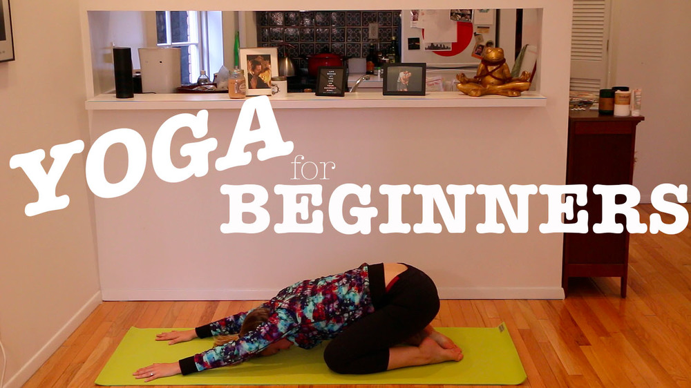 Pin now, practice later! Yoga for complete beginners!