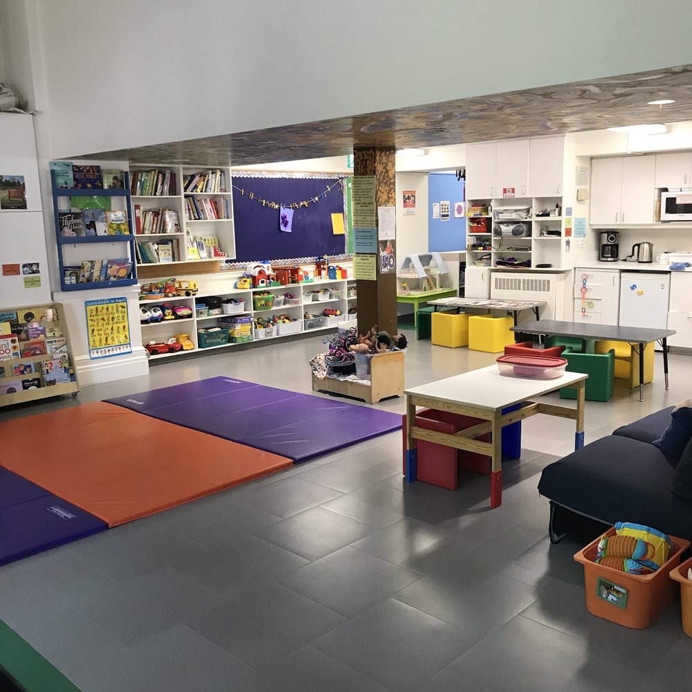 Our space is wheelchair-accessible. All children aged 0-6 years and their parents/caregivers are welcome!