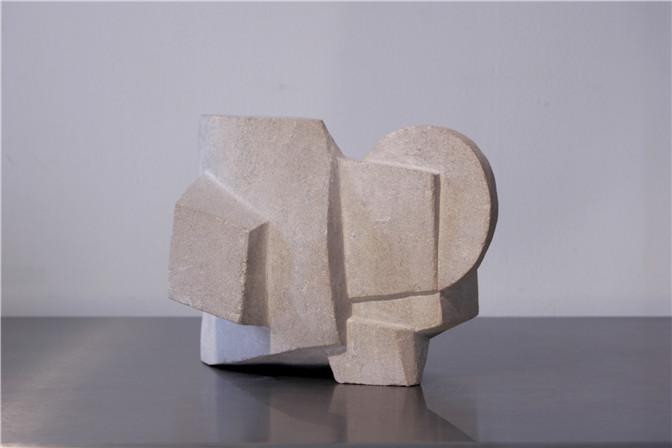 Alicia Ehni, KM 136 P.H., 2005, Carved Limestone, 8.5 x 11.7 x 8.6 in.(III).jpg