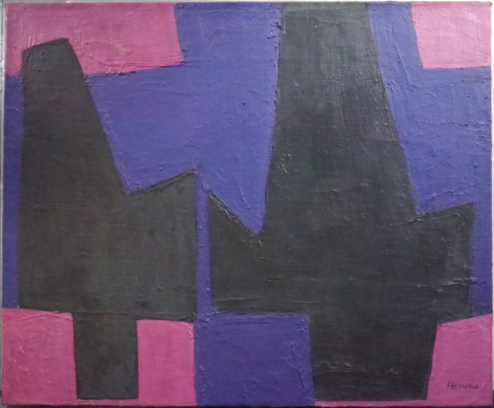Composition with pink • 1948