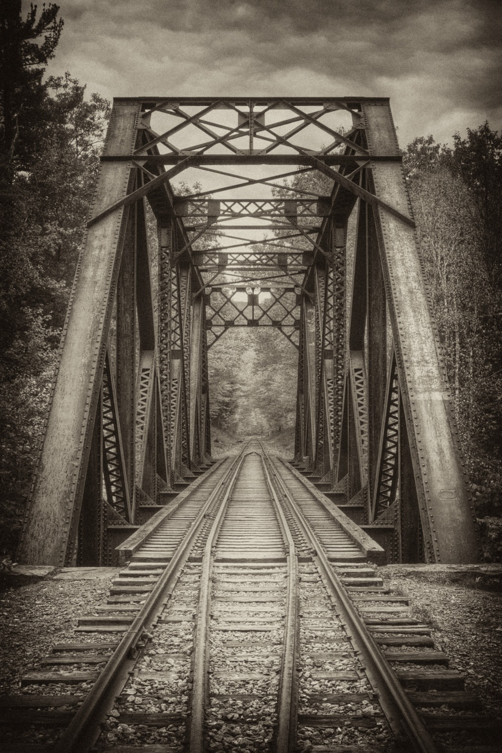 Railroad Bridge, Crawford Notch Road Stream, NH.jpg