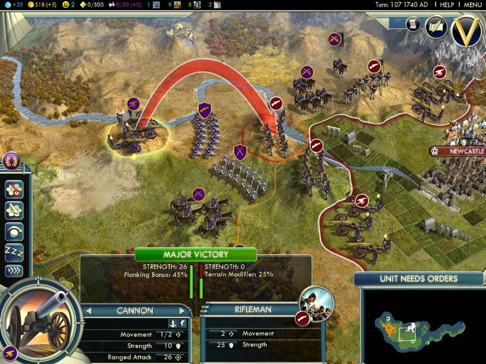 Can you tell what's going on at-a-glance? Probably not unless you are a experienced Civilization player, but that's because Civilization is very complex.