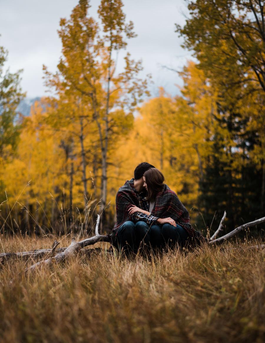 Mount Rundle  Banff Engagement Photographers  Danika & Devon