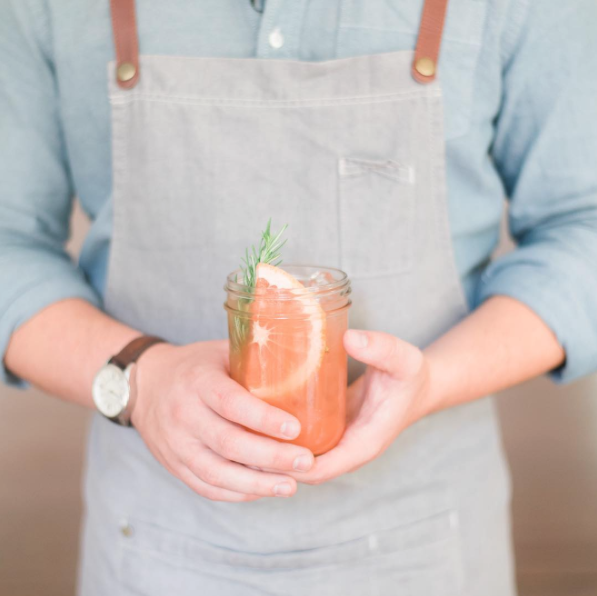 A She + Him Bartending Custom Cocktail