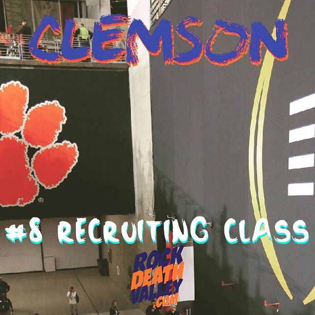 The Tigers currently have the 8th ranked recruiting class, according to Rivals.com.