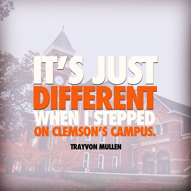 Trayvon Mullen knows what's up. #itsjustdifferent