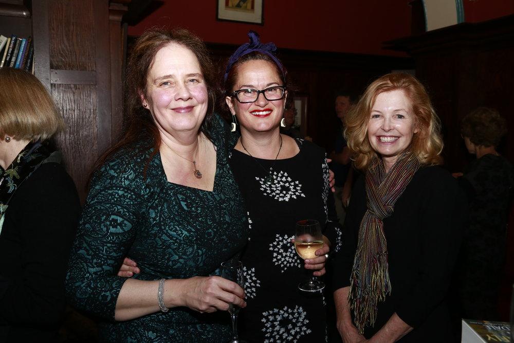 L- R: Claire Corbett, Dr Naomi Parry, Carol Ann Major