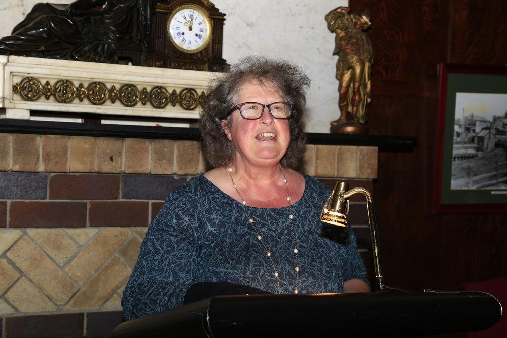 Annette Barlow, publisher A&U - generous words of praise