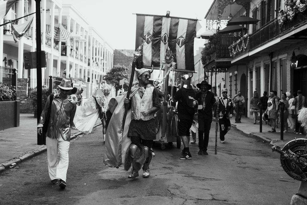 MARDI GRAS DAY 2017 - A VISUAL NARRATIVE OF MARDI GRAS DAY INNEW ORLEANS, LOUISIANA