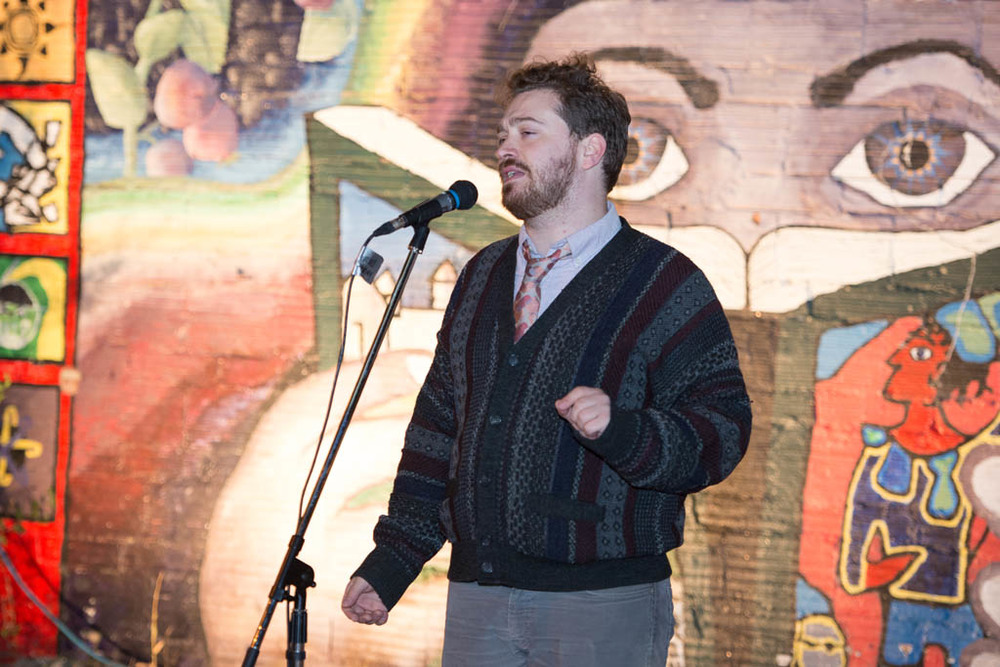 TONIGHT IT'S POETRY - Brendan Flaherty     Photo by Candace Epp Photography