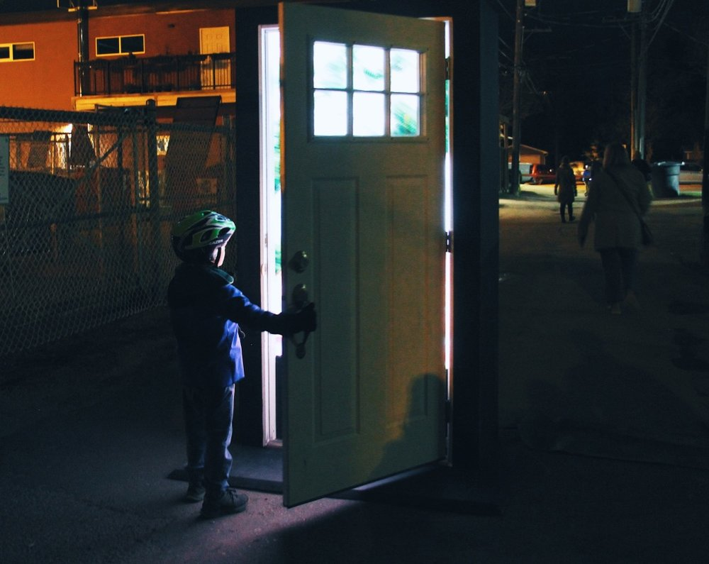 PAUL MAGNUSON // THE DOOR // PHOTOS BY KYLA HAMBLY & KELSEY FAGNOU