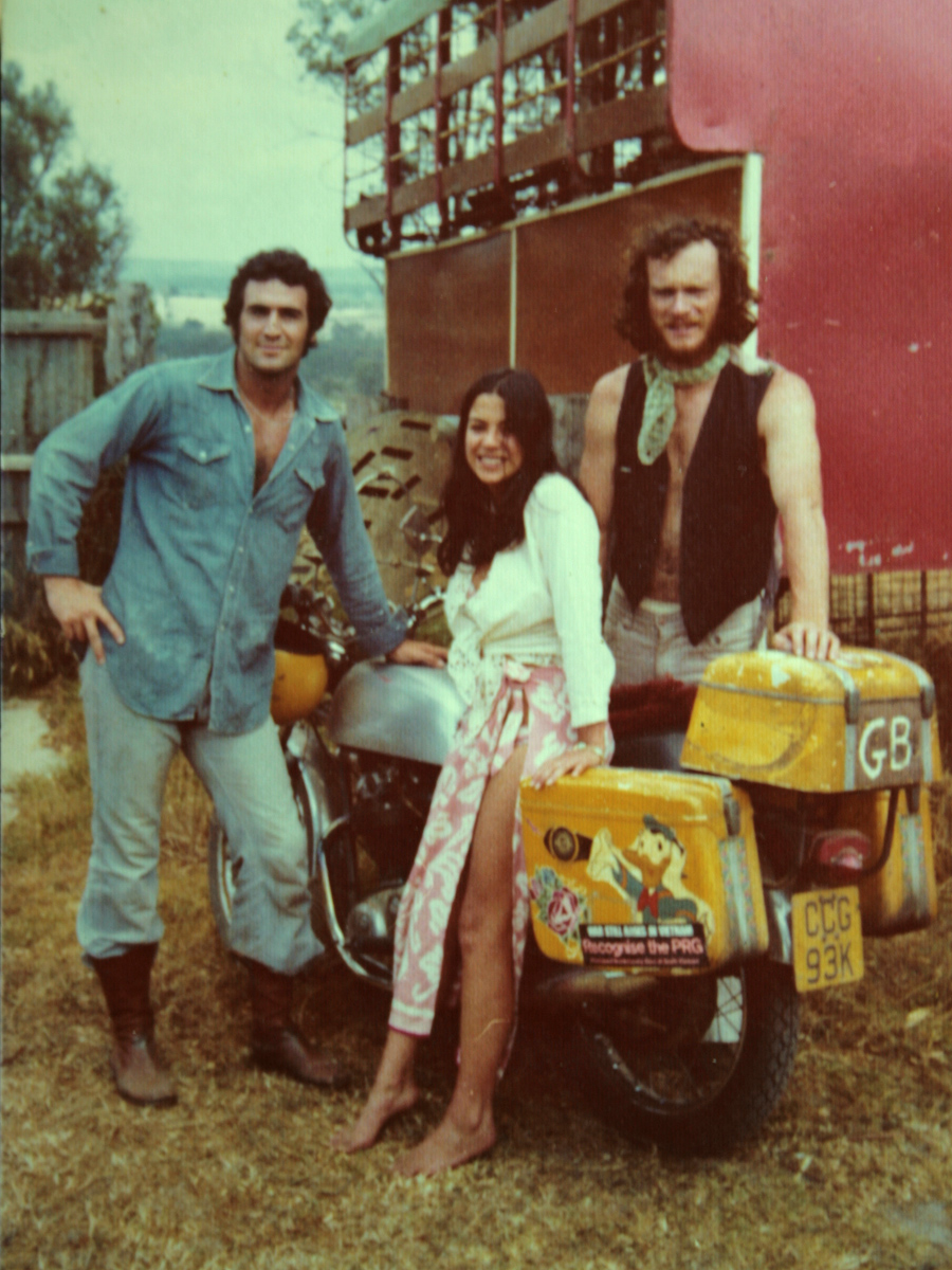 Alec, Nora and Bruce meet together in the countryside outside Sydney. Bruce's bike journey had taken him on his 9 month journey to South Africa by himself after Alec's accident in France, and it was in the Cape Province that he met Nora.