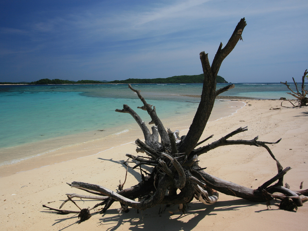 South Key - a sandbar and island off the south coast of Busuanga Island in Palawan